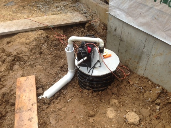 R d development group inc for Exterior drain tile installation
